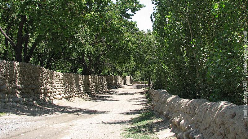 Дорога в Ворухе