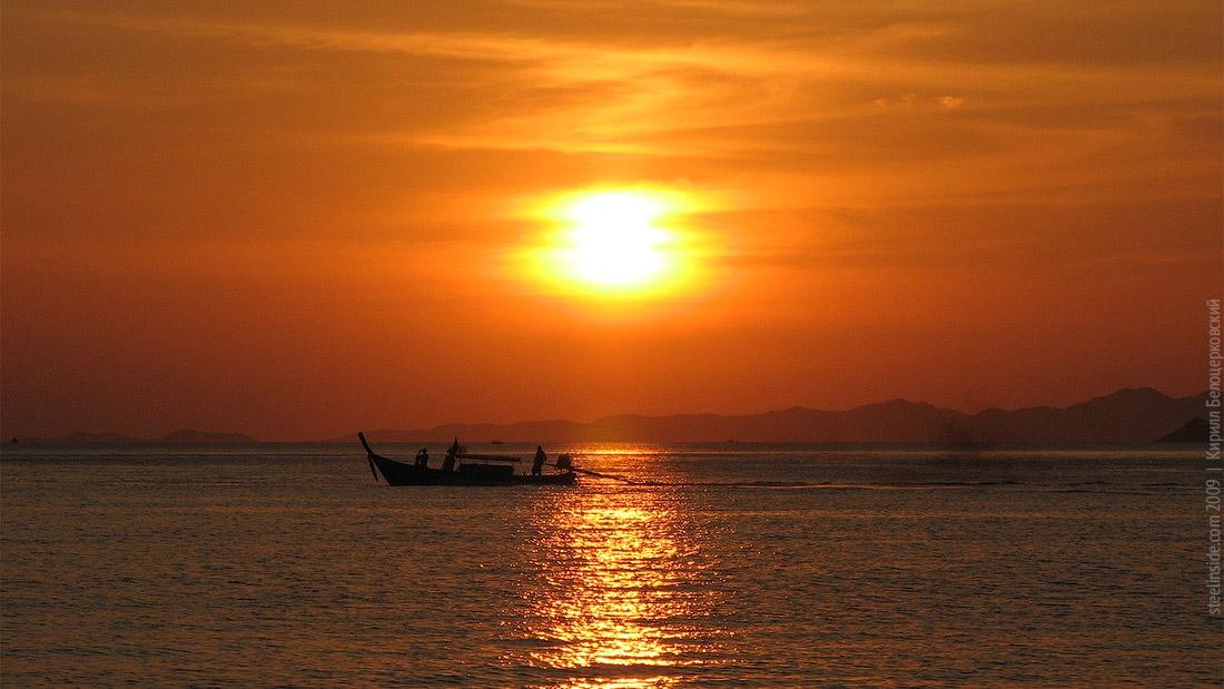Закат над Андоманским морем