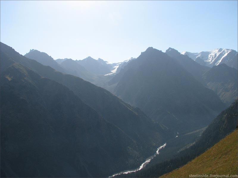 Вид с Талгарского перевала