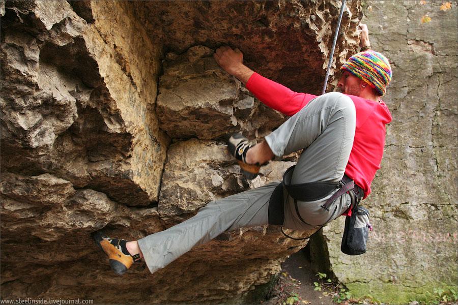 Я на скалах в Каменце-Подольском