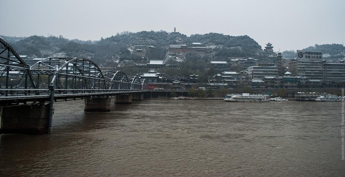 Мост через Хуанхе, Ланчжоу