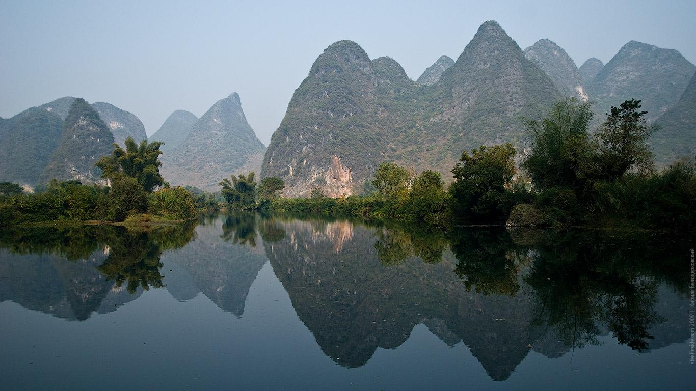 Река в Янгшуо