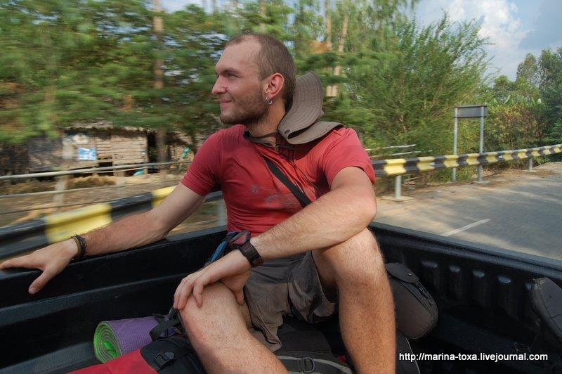 По дороге на юг Камбоджи
