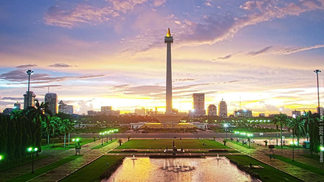 Last erection of Soekarno