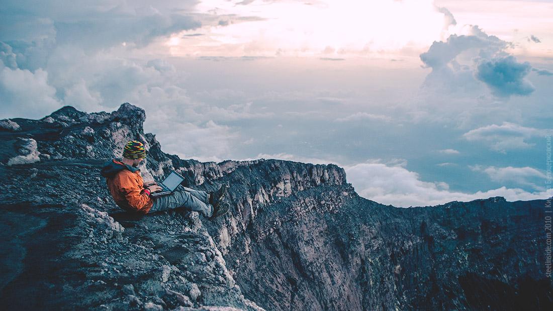 Вершина вулкана Керинчи