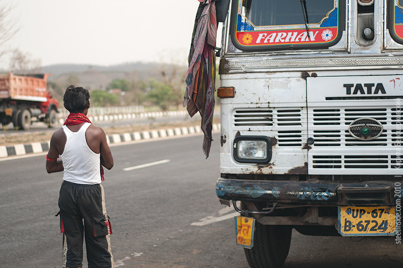 Индийский грузовик