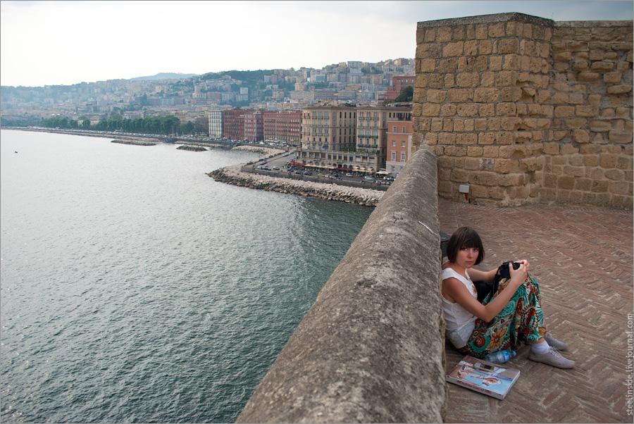 Клец, стены и Неаполитанский залив