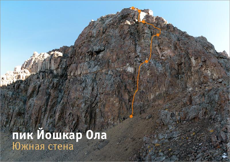 Южная стена Йошкар-Олы
