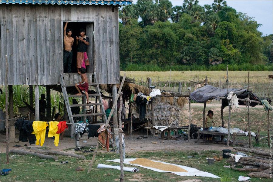 Ещё один кхмерский дом