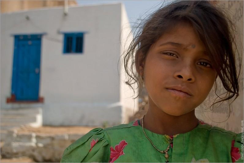 Девочка из Хампи