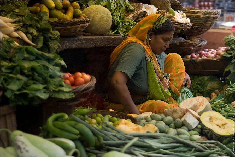 На рынке в Варанаси