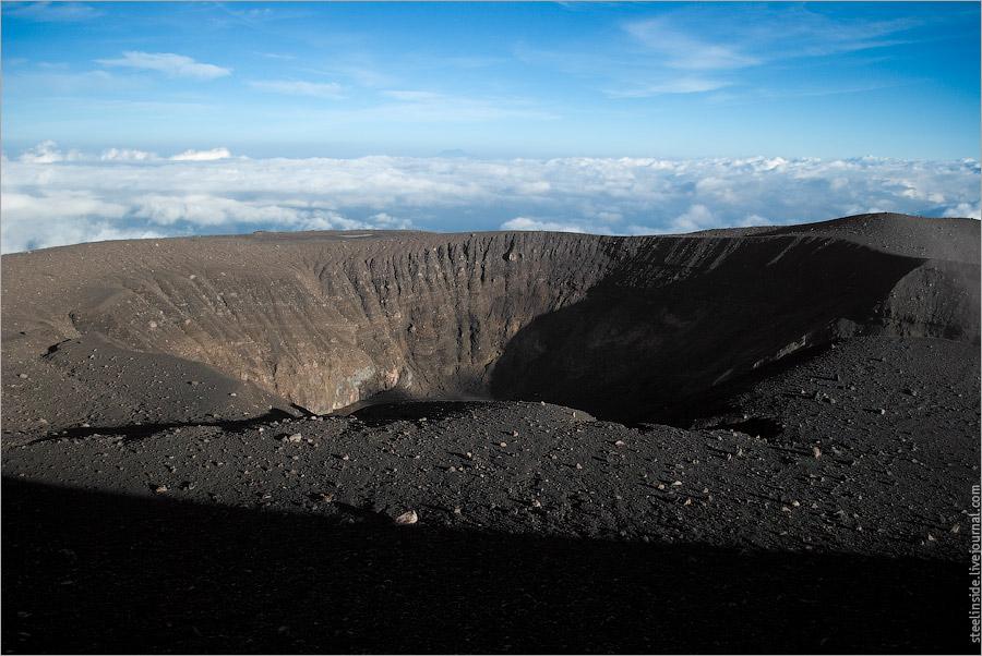 Кратер вулкана Мерапи