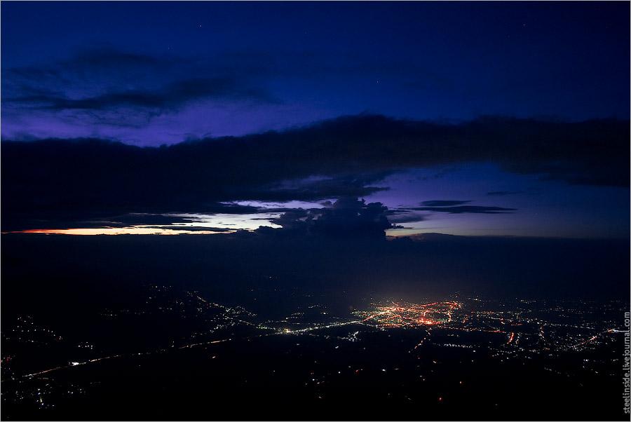 Букиттинги со склонов вулкана Мерапи
