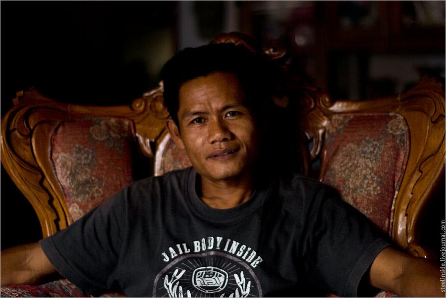 Житель Саролангуна