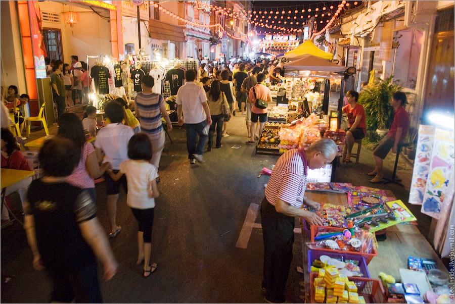 Китайский рынок в Мелаке