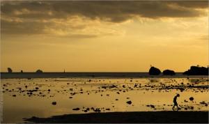 Закат на Андаманском море
