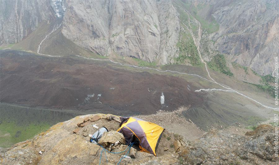 Палатка на Огурце