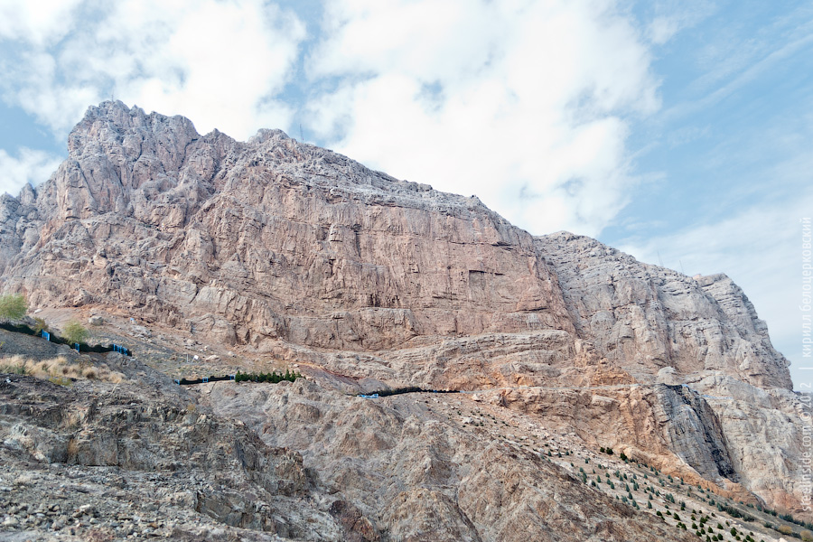 Скалы вокруг Исфахана