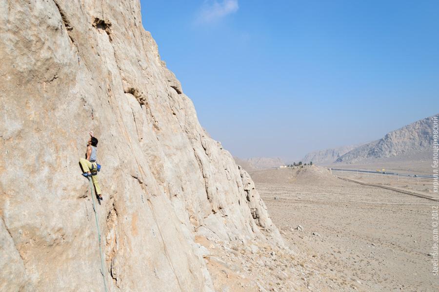 Скалолазание в Иране. Исфахан.
