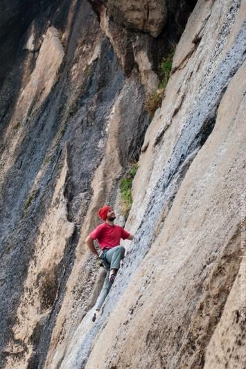Скалолазание в Иране. Бисотун.