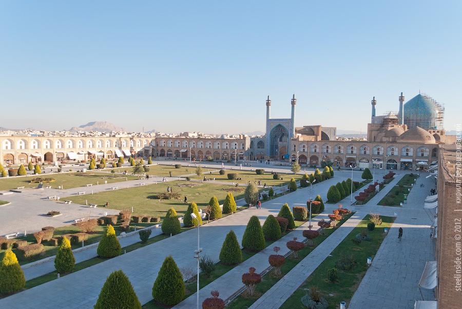 Площадь Имама в Исфахане