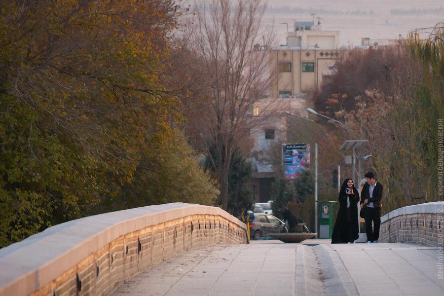 Один из мостов в Исфахане