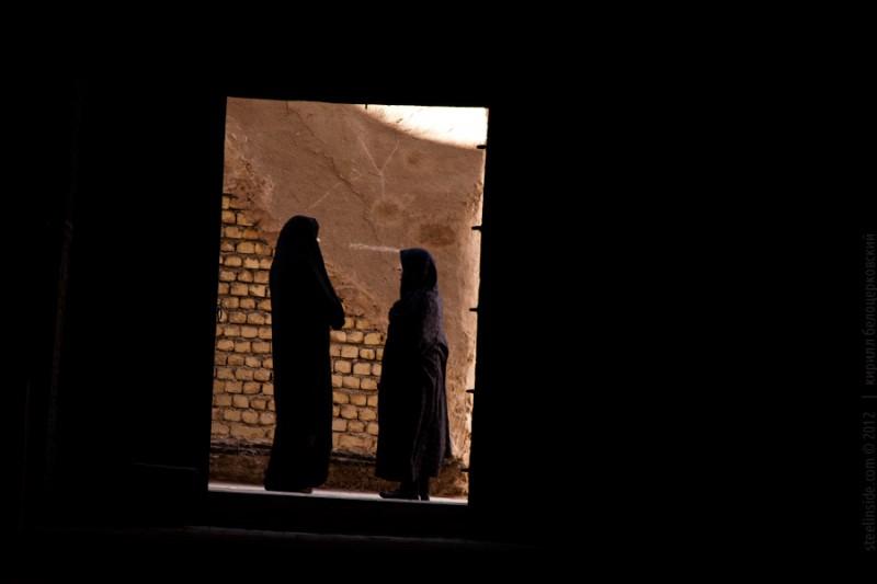 Женщины в Масжид Джаме , Исфахан