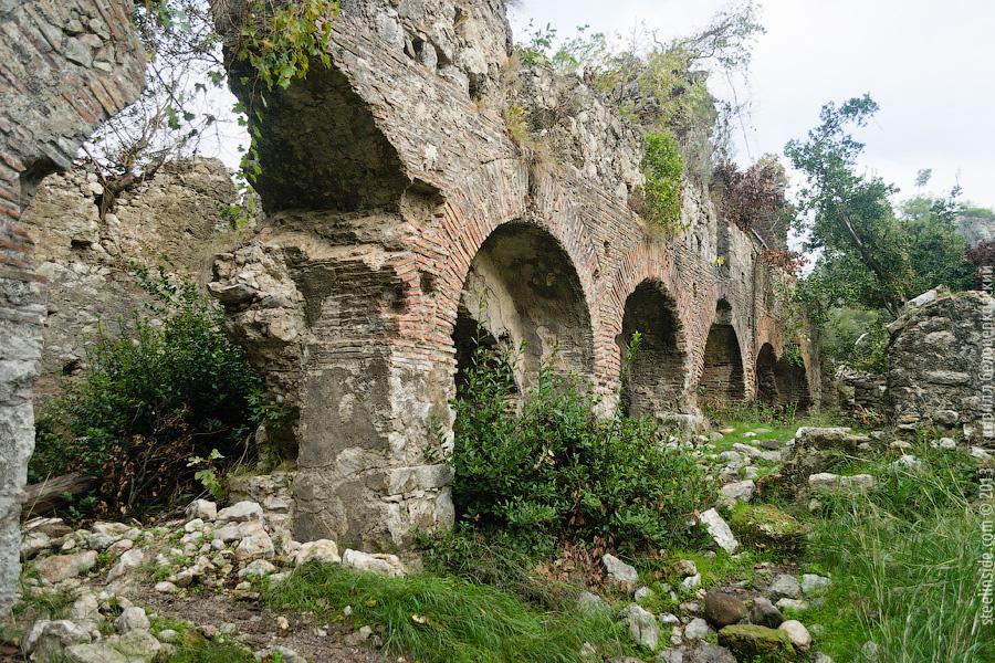 Развалины римских бань