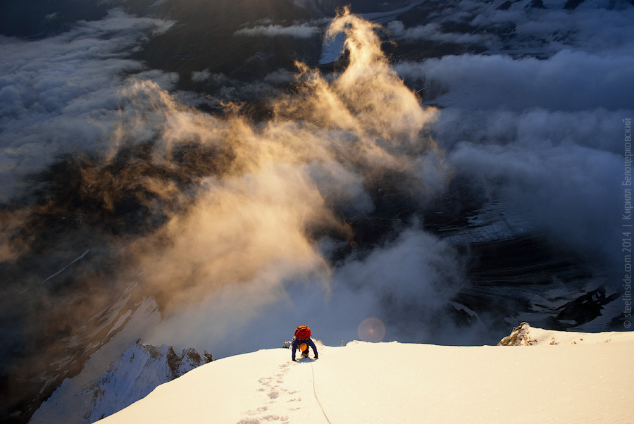 Подход к вершине Маттерхорна
