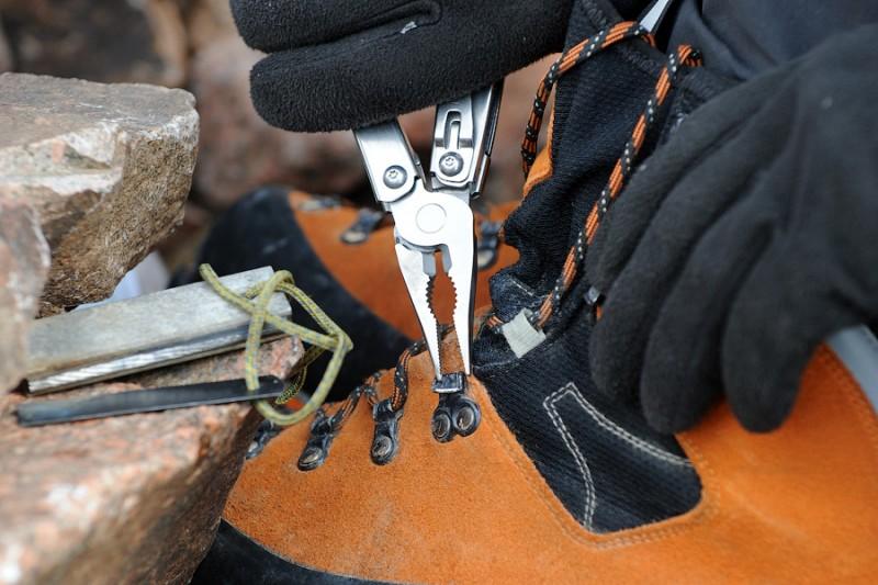 Ремонт обуви в горах