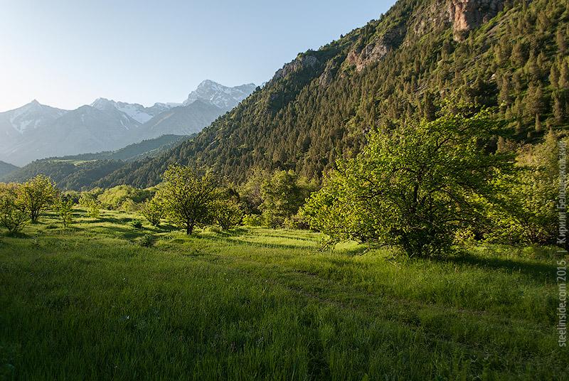 Ущелье Сазан-Ата