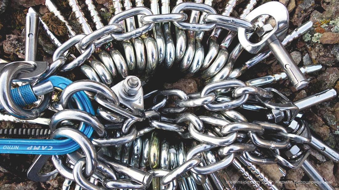 Клеевые крючья и спусковые цепи