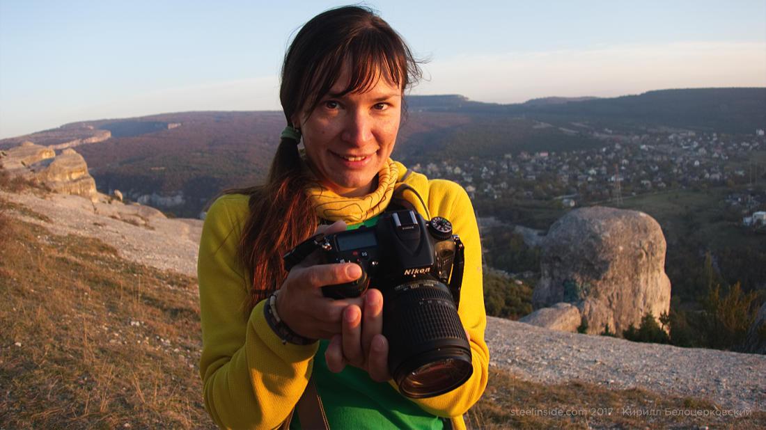 Ольга и фотоаппарат