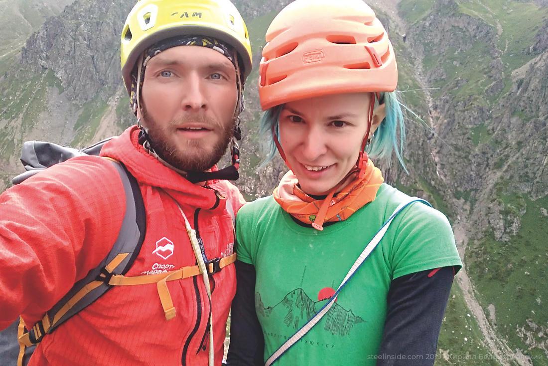 Кирилл и Ольга Белоцерковские на Центральном бастионе