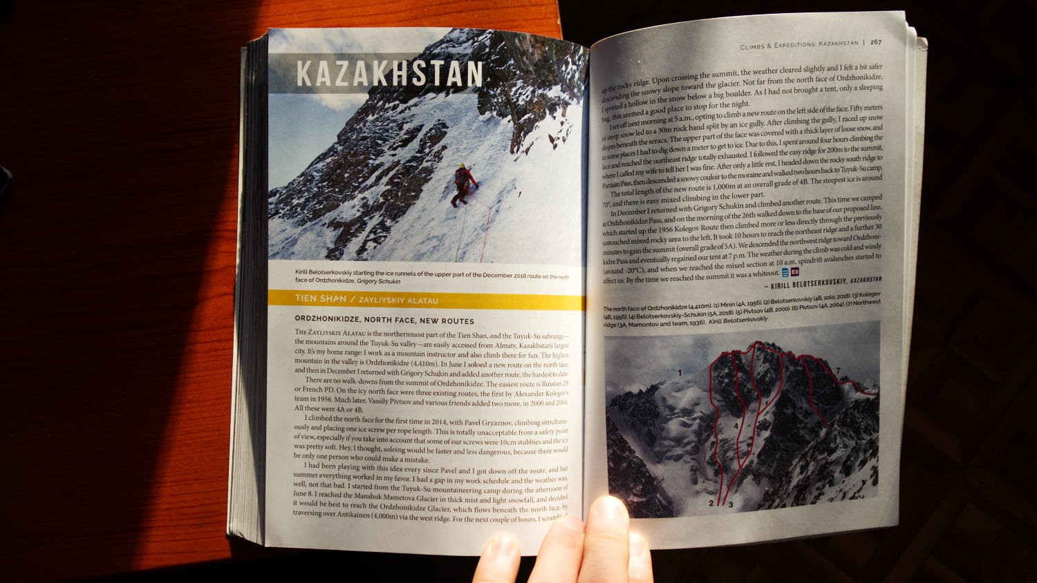 Страница из American Alpine Journal 2019