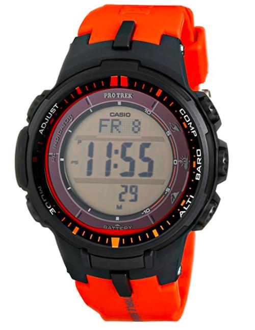 Часы Casio ProTrek с солнечной батарейкой