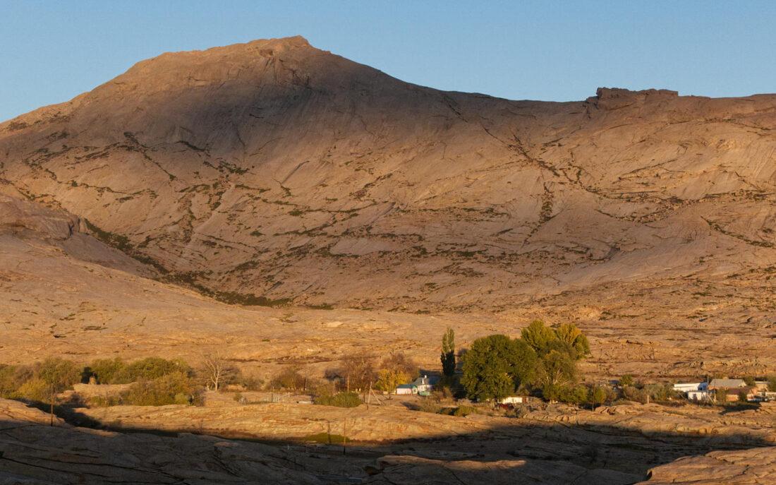 Скальная вершина Бектау-Ата