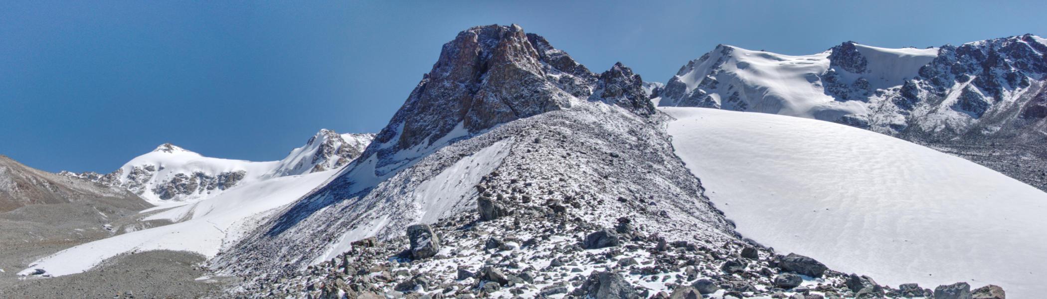 Нижняя часть ледника Пальгова