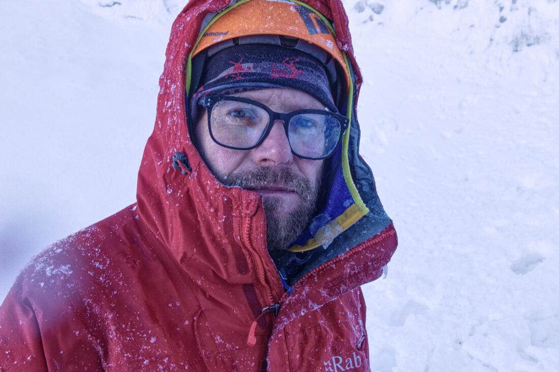 Леонид Смидович намок, а потом замёрз