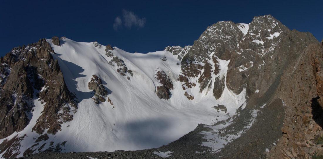Панорама ледника Южный Орджоникидзе